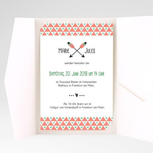 Hochzeitskarten Querformat - Amor  39558 test