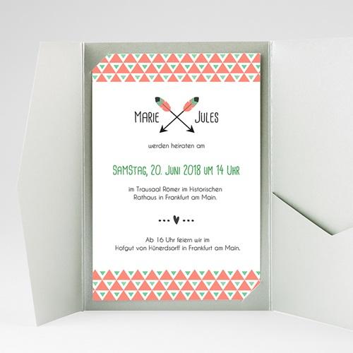 Hochzeitskarten Querformat - Amor  39559 test