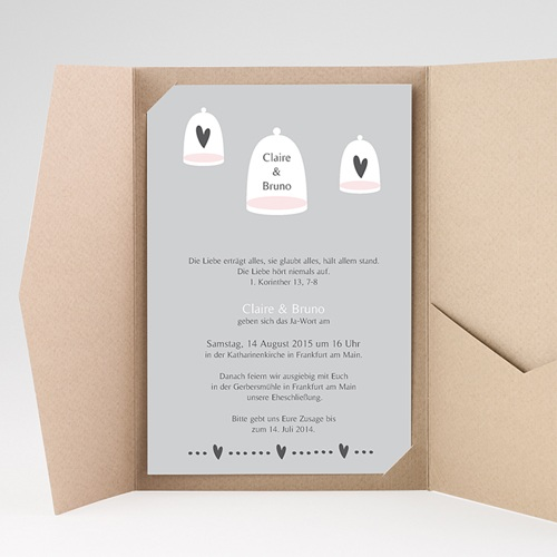 Hochzeitskarten Querformat - Prag 39565 preview