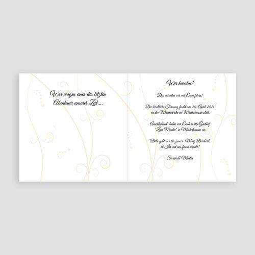 Hochzeitseinladungen modern - Hochzeitsglocken 3957 preview