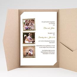 Hochzeitskarten Querformat Ambiente Boho