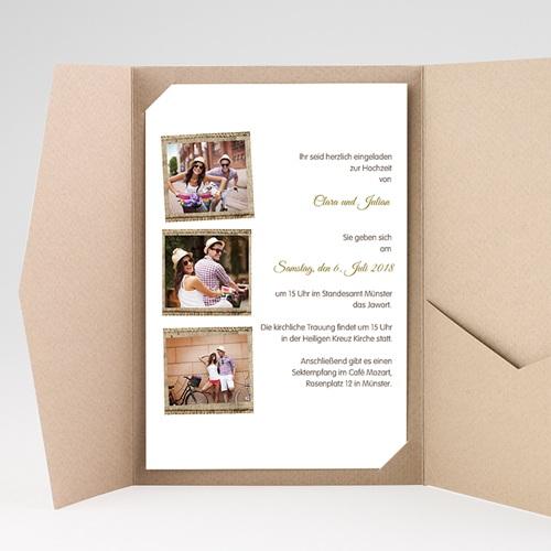 Hochzeitskarten Querformat - Ambiente Boho  39573 preview