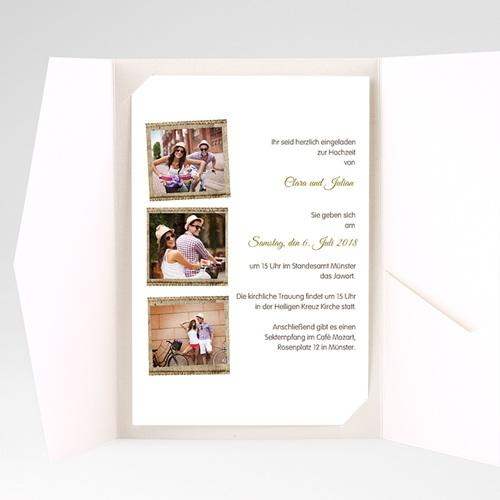 Hochzeitskarten Querformat - Ambiente Boho  39574 preview