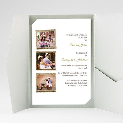 Hochzeitskarten Querformat - Ambiente Boho  39575 preview