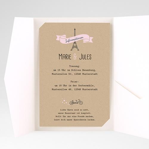 Hochzeitskarten Querformat - Love in Moskau 39582 test