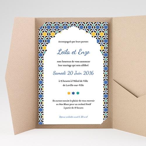 Hochzeitskarten Querformat - Tanger 39593 preview