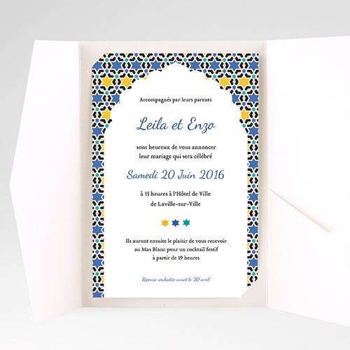 Hochzeitskarten Querformat - Tanger 39594 preview