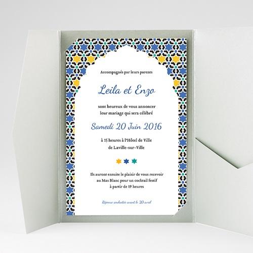 Hochzeitskarten Querformat - Tanger 39595 preview