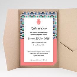 Hochzeitskarten Querformat - Alhambra - 0