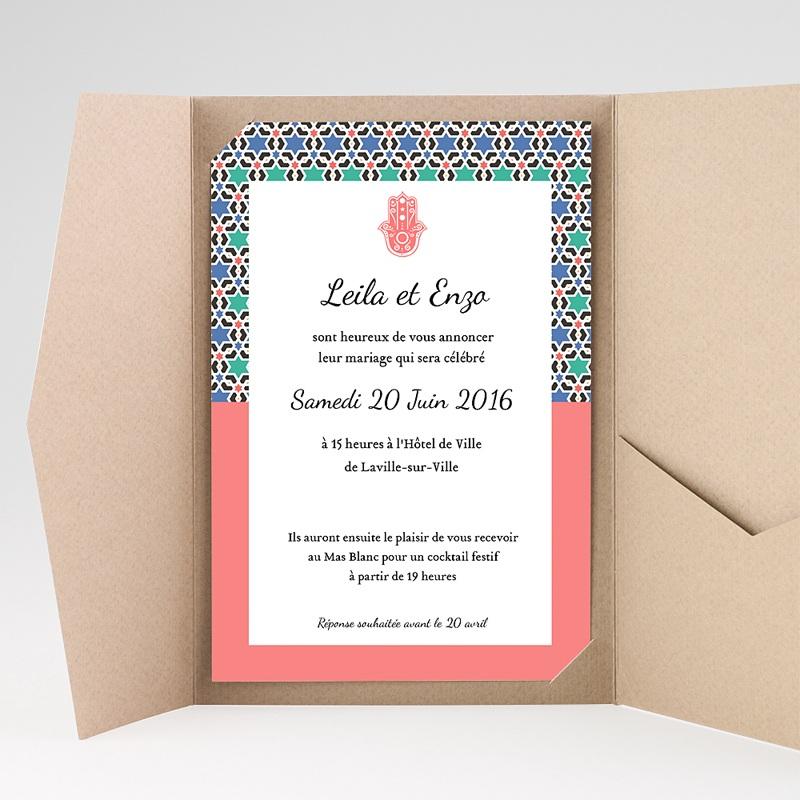 Hochzeitskarten Querformat Granada