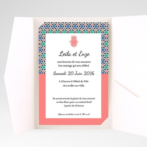 Hochzeitskarten Querformat Granada pas cher