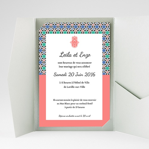 Hochzeitskarten Querformat Granada gratuit