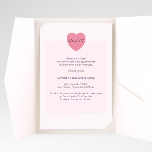 Hochzeitskarten Querformat - Bonbonfarben 39618 preview