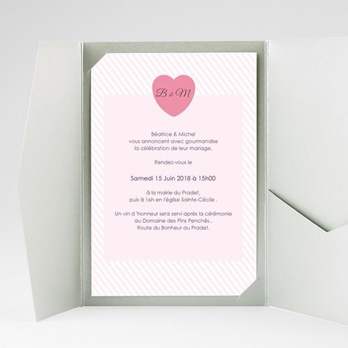 Hochzeitskarten Querformat - Bonbonfarben 39619 preview