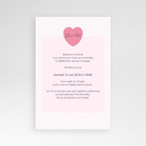 Hochzeitskarten Querformat - Bonbonfarben 39620 preview