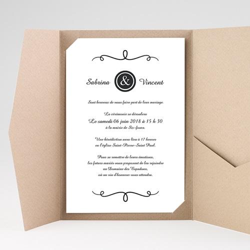 Hochzeitskarten Querformat - Fein 39641 preview