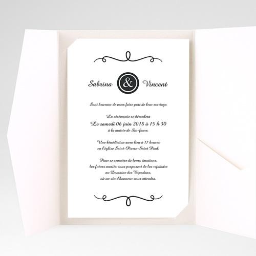 Hochzeitskarten Querformat - Fein 39642 preview