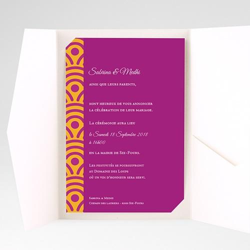 Hochzeitskarten Querformat - Marrakech 39666 preview