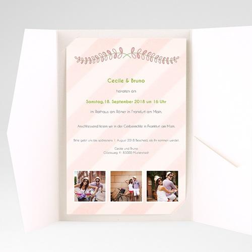 Hochzeitskarten Querformat - Anzug 39674 preview
