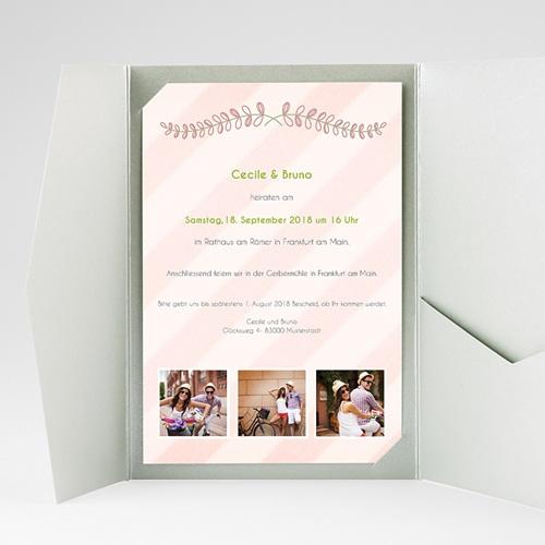 Hochzeitskarten Querformat - Anzug 39675 preview