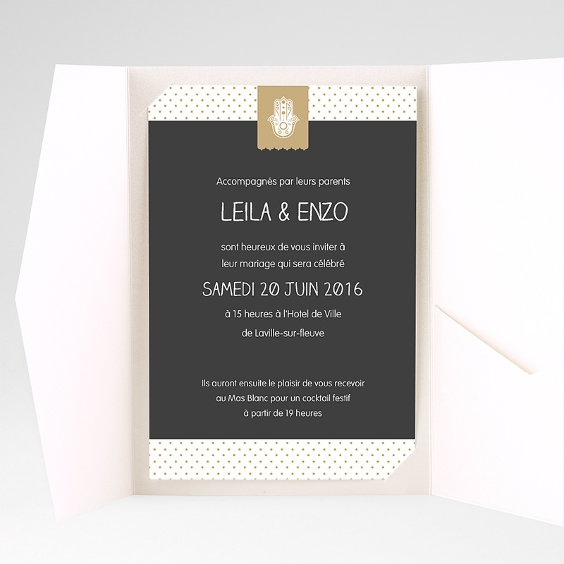 Hochzeitskarten Querformat Blumig pas cher