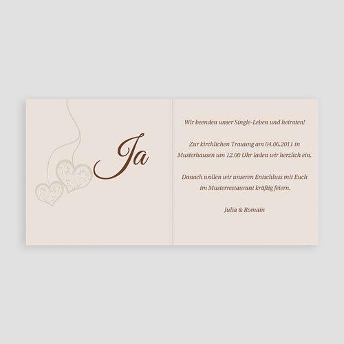 Hochzeitseinladungen modern - Jolanda 3969 preview