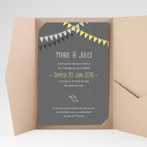 Hochzeitskarten Querformat - Himmlisch 39697 test