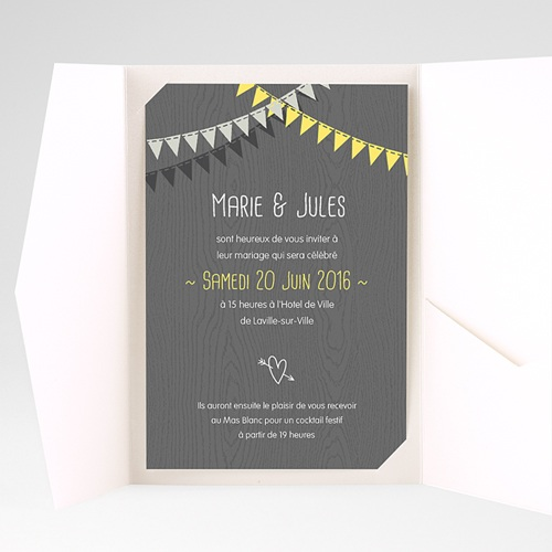 Hochzeitskarten Querformat - Himmlisch 39698 test