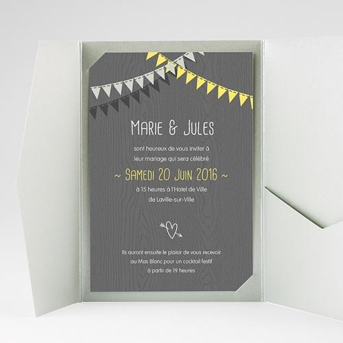 Hochzeitskarten Querformat - Himmlisch 39699 test