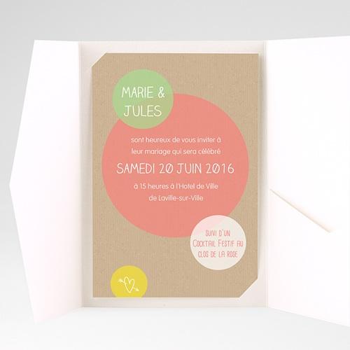 Hochzeitskarten Querformat - Runde Fom 39706 test