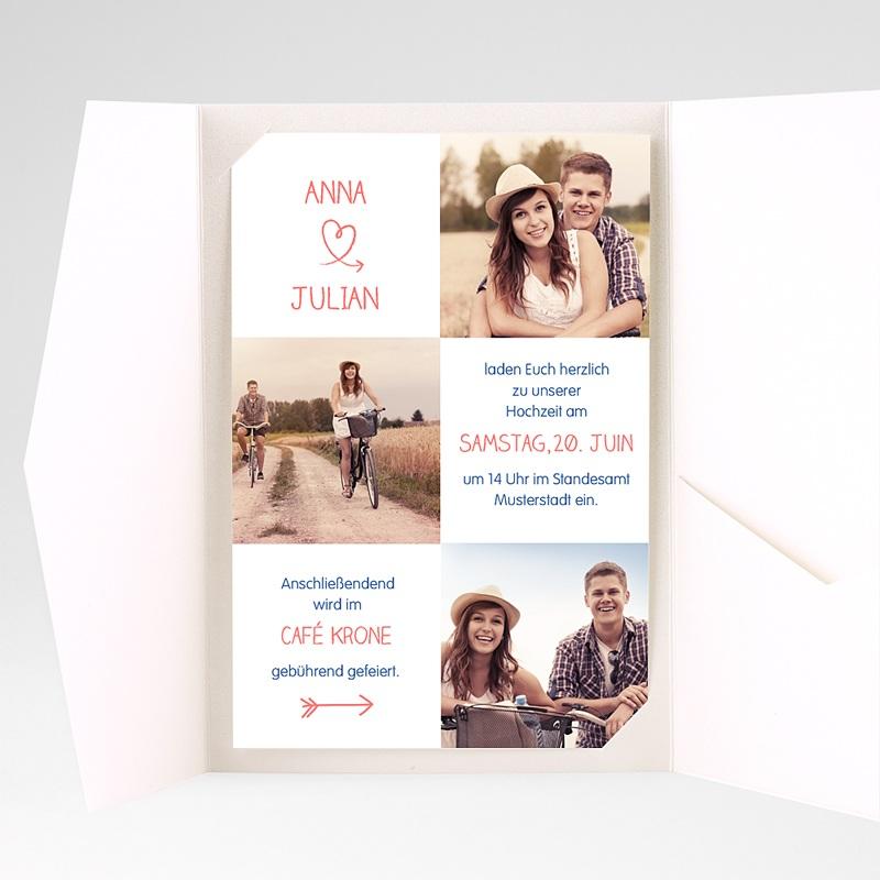 Hochzeitskarten Querformat - Lustig 39714 thumb