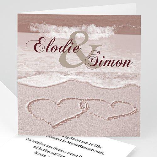 Einladungskarten Hochzeit  - Rom 3972 test