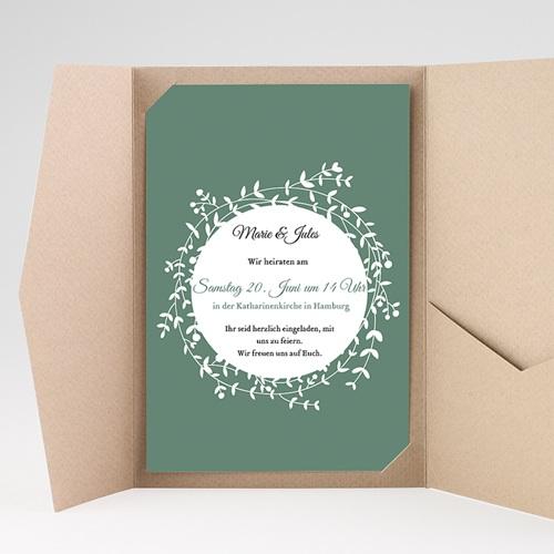 Hochzeitskarten Querformat - Schmuck 39721 thumb