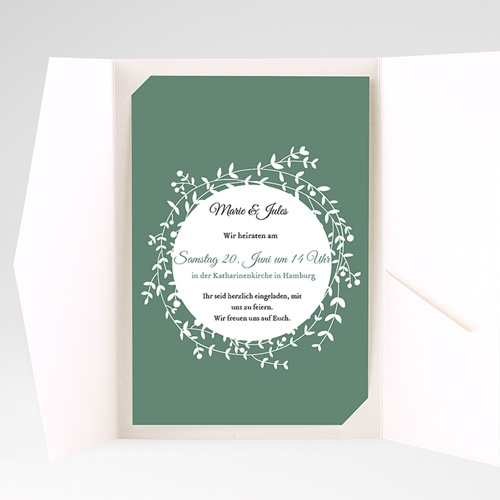 Hochzeitskarten Querformat - Schmuck 39722 preview