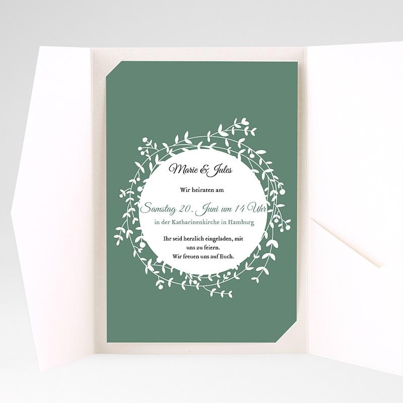 Hochzeitskarten Querformat - Schmuck 39722 thumb