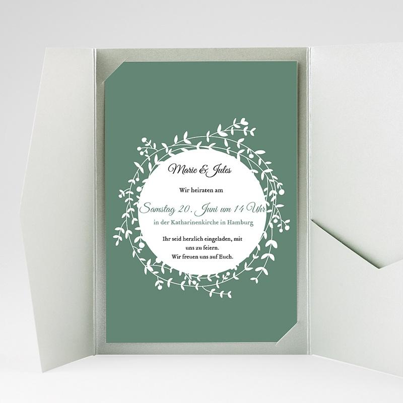 Hochzeitskarten Querformat - Schmuck 39723 thumb