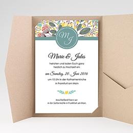 Hochzeitskarten Querformat Tropez
