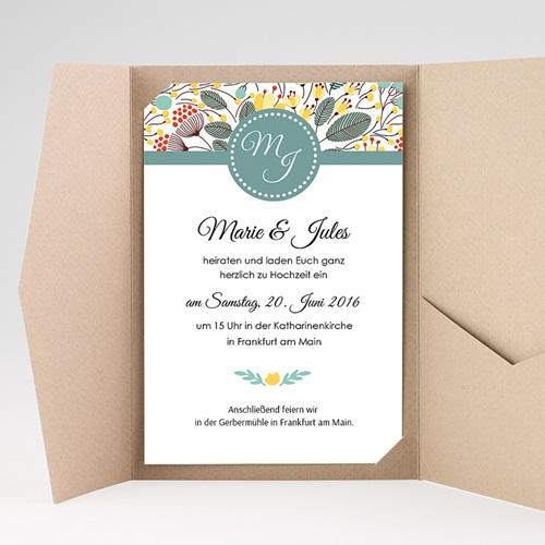 Hochzeitskarten Querformat - Tropez 39729 preview