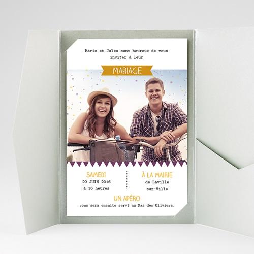 Hochzeitskarten Querformat - Farbkombination 39747 preview