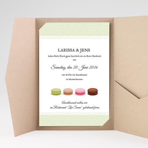 Hochzeitskarten Querformat - Schlemmen 39761 preview