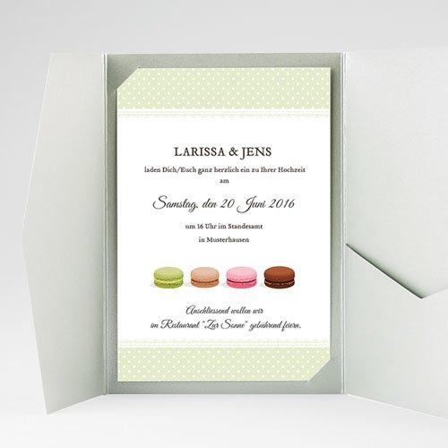 Hochzeitskarten Querformat Schlemmen gratuit