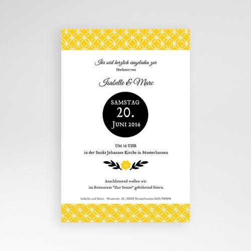Hochzeitskarten Querformat - Gelbton 39780 preview