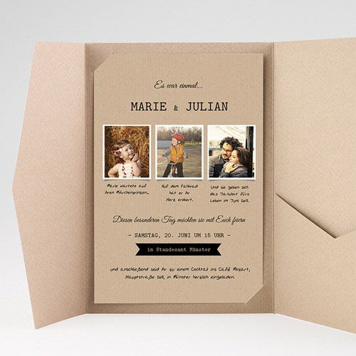 Hochzeitskarten Querformat - Forever 39793 test
