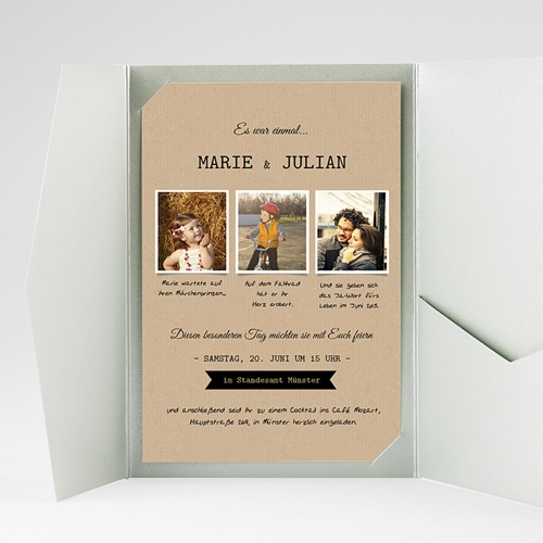 Hochzeitskarten Querformat - Forever 39795 test