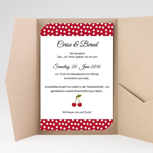 Hochzeitskarten Querformat - Kirschernte 39801 preview