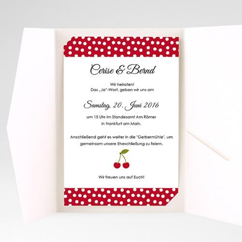 Hochzeitskarten Querformat - Kirschernte 39802 preview