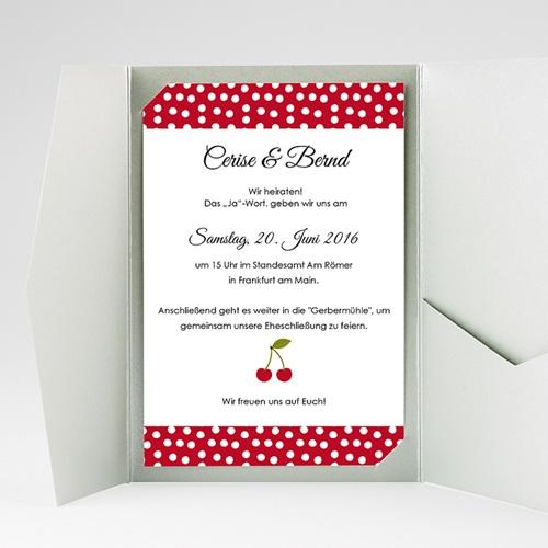 Hochzeitskarten Querformat - Kirschernte 39803 thumb