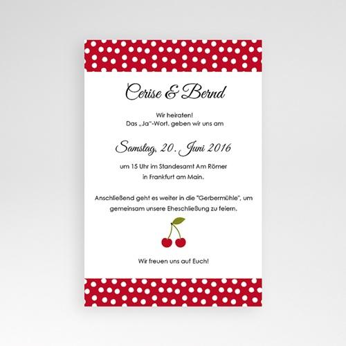 Hochzeitskarten Querformat - Kirschernte 39804 preview