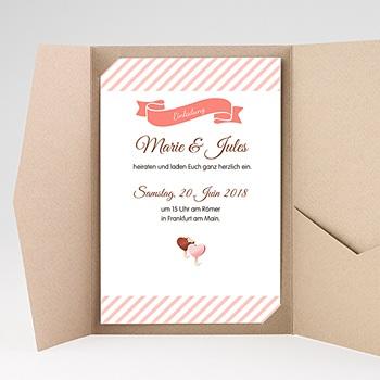 Hochzeitskarten Querformat - Gourmandise - 0