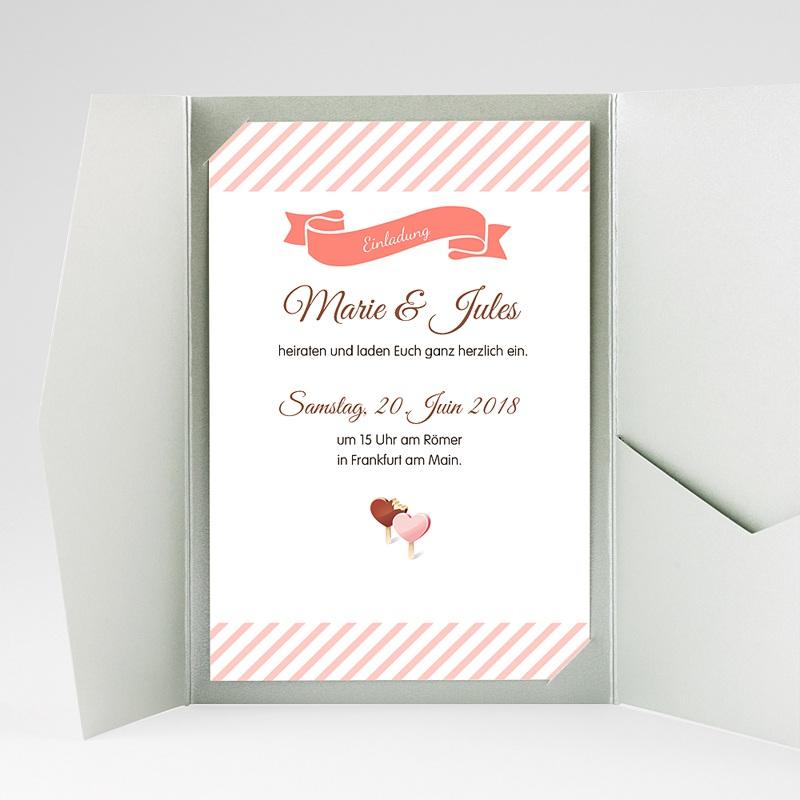 Hochzeitskarten Querformat Sweet gratuit